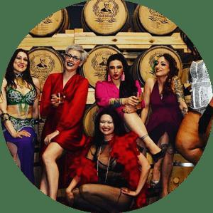 Rattlesnake Revue Burlesque Show